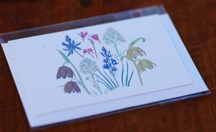 sample lopez wildflower gift card